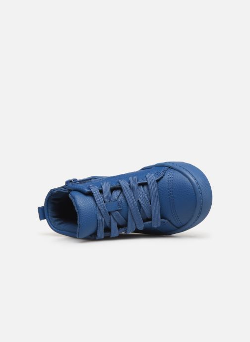 Sneakers Clarks City Oasis HT Azzurro immagine sinistra