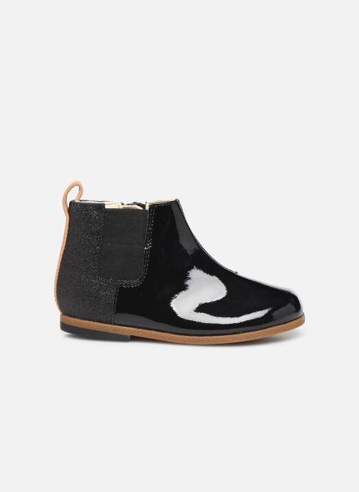 Boots en enkellaarsjes Clarks Drew Fun T Zwart achterkant