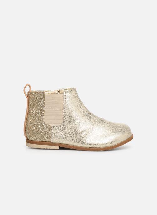 Bottines et boots Clarks Drew Fun T Or et bronze vue derrière