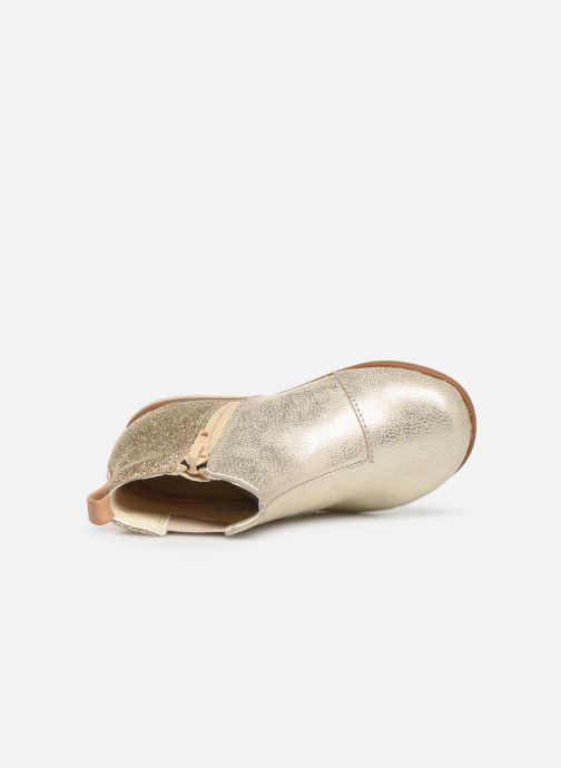 Stiefeletten & Boots Clarks Drew Fun T gold/bronze ansicht von links