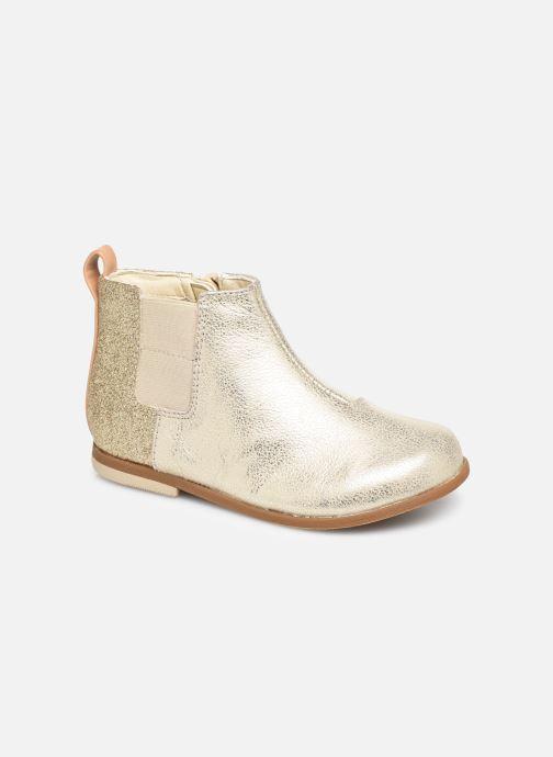 Bottines et boots Clarks Drew Fun T Or et bronze vue détail/paire