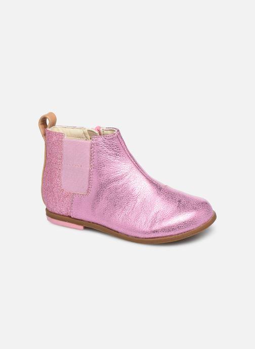 Bottines et boots Clarks Drew Fun T Rose vue détail/paire
