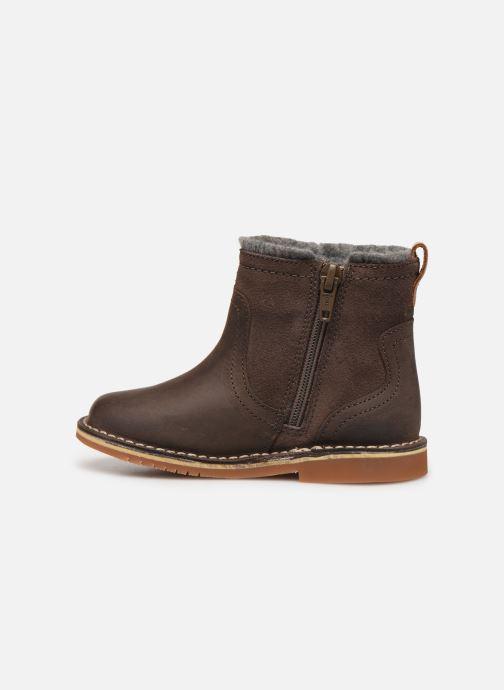 Bottines et boots Clarks Comet Frost T Marron vue face