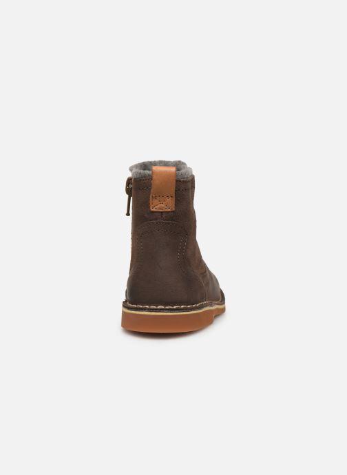 Bottines et boots Clarks Comet Frost T Marron vue droite
