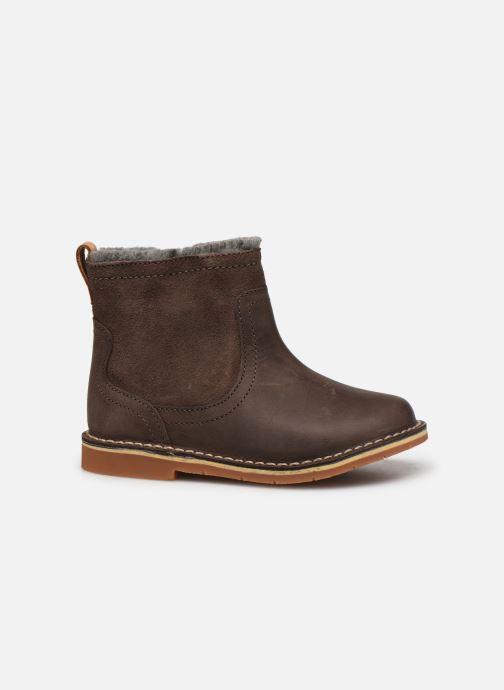 Bottines et boots Clarks Comet Frost T Marron vue derrière