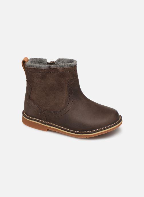 Bottines et boots Clarks Comet Frost T Marron vue détail/paire