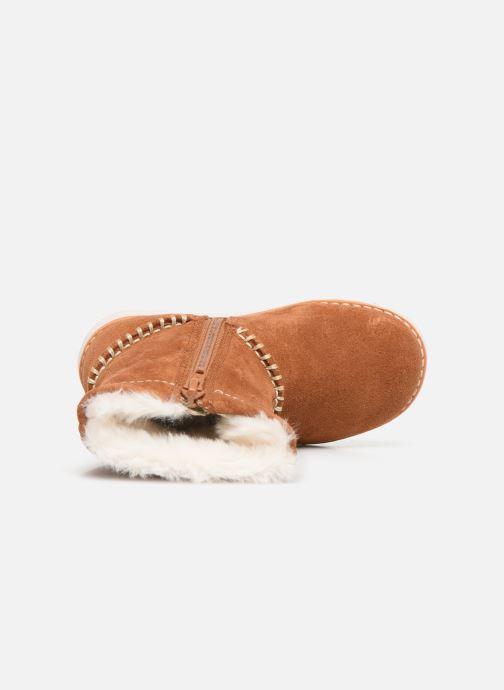 Boots en enkellaarsjes Clarks Crown Piper T Bruin links