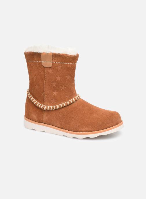 Bottines et boots Clarks Crown Piper T Marron vue détail/paire