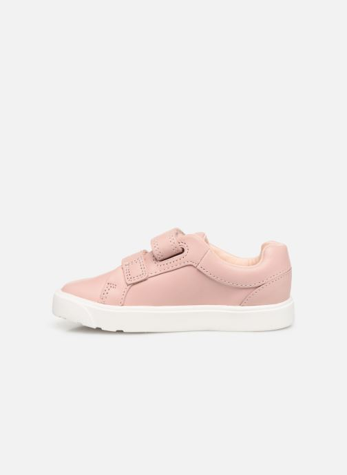 Baskets Clarks City OasisLo T Rose vue face