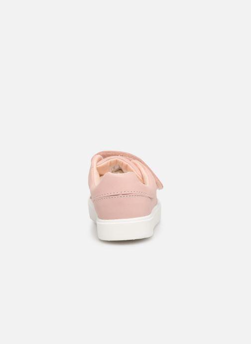 Sneaker Clarks City OasisLo T rosa ansicht von rechts