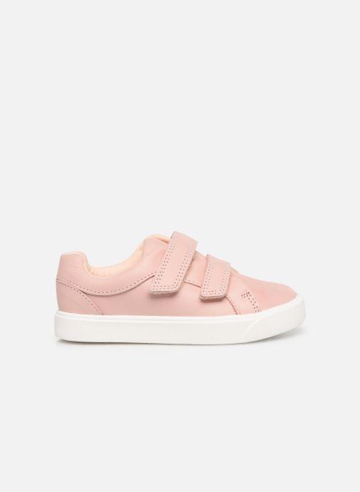 Sneaker Clarks City OasisLo T rosa ansicht von hinten