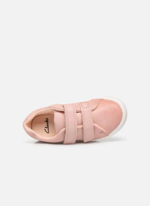 Sneaker Clarks City OasisLo T rosa ansicht von links