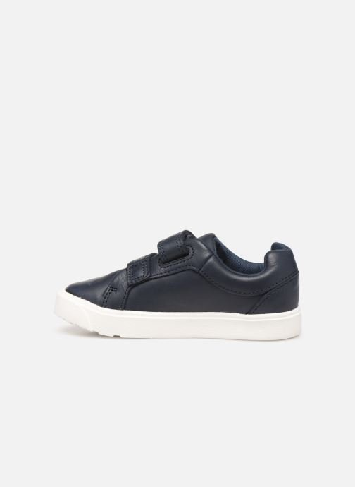Baskets Clarks City OasisLo T Bleu vue face