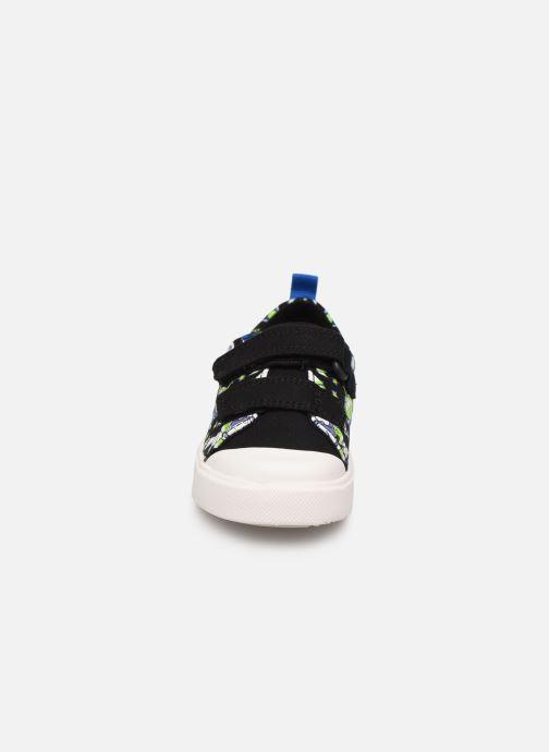 Baskets Clarks City Team x Toy Story Noir vue portées chaussures