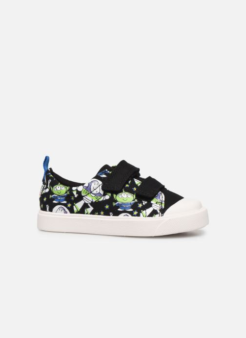 Baskets Clarks City Team x Toy Story Noir vue derrière