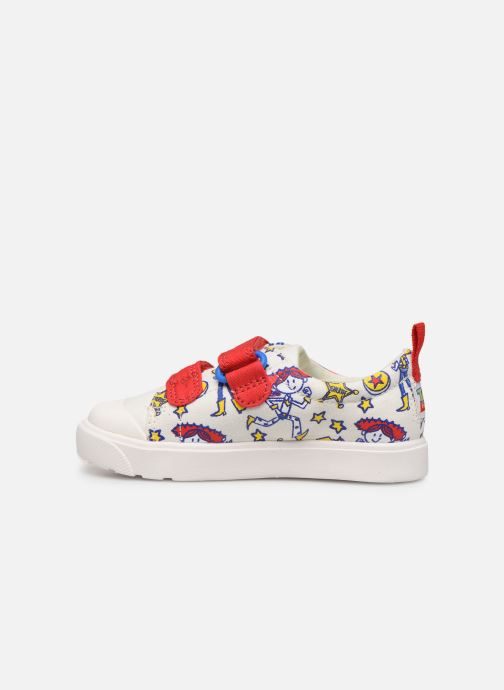 Baskets Clarks City Team x Toy Story Blanc vue face