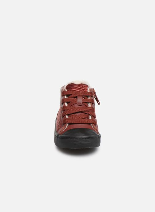 Trainers Clarks City Peak T warm Red model view