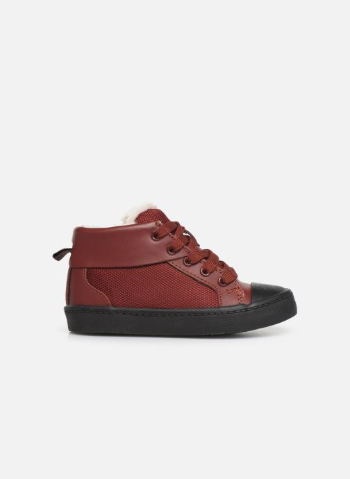 Baskets Clarks City Peak T warm Rouge vue derrière