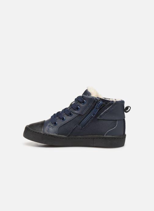 Sneaker Clarks City Peak T warm blau ansicht von vorne