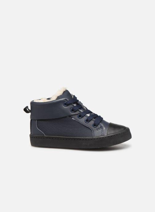Sneakers Clarks City Peak T warm Blauw achterkant
