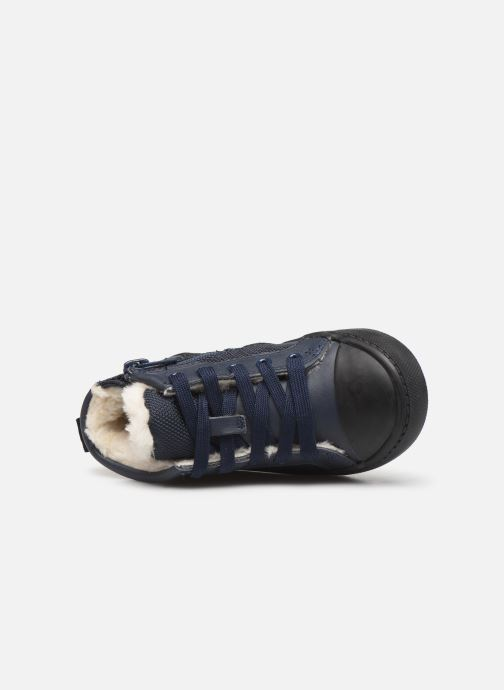 Sneaker Clarks City Peak T warm blau ansicht von links