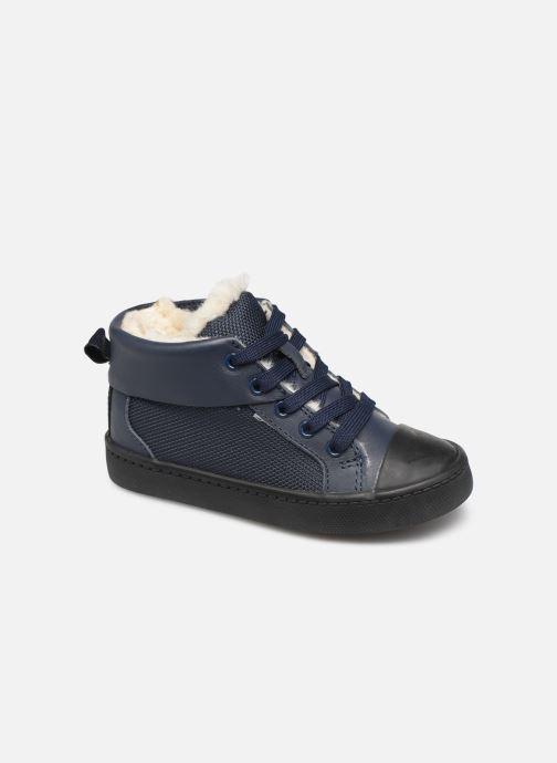 Sneaker Clarks City Peak T warm blau detaillierte ansicht/modell