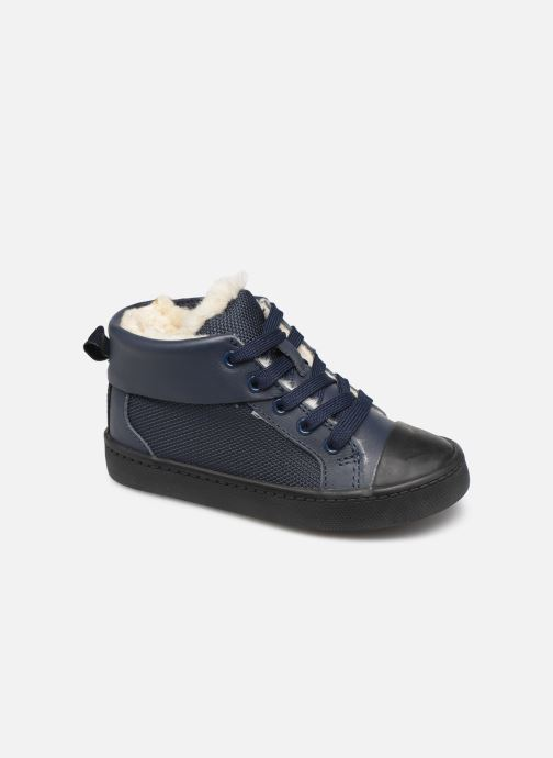 Sneakers Clarks City Peak T warm Blauw detail