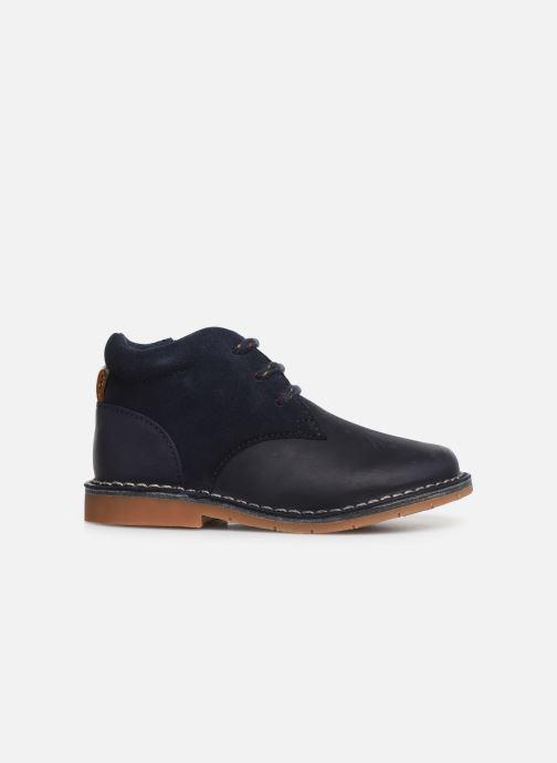 Chaussures à lacets Clarks Comet Radar T Bleu vue derrière