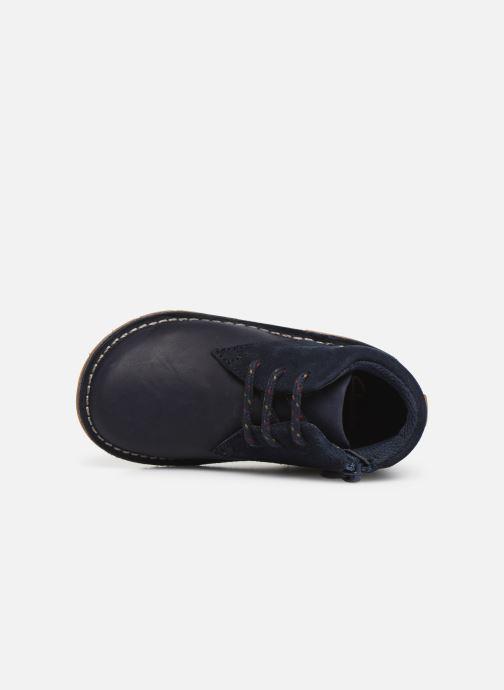 Chaussures à lacets Clarks Comet Radar T Bleu vue gauche