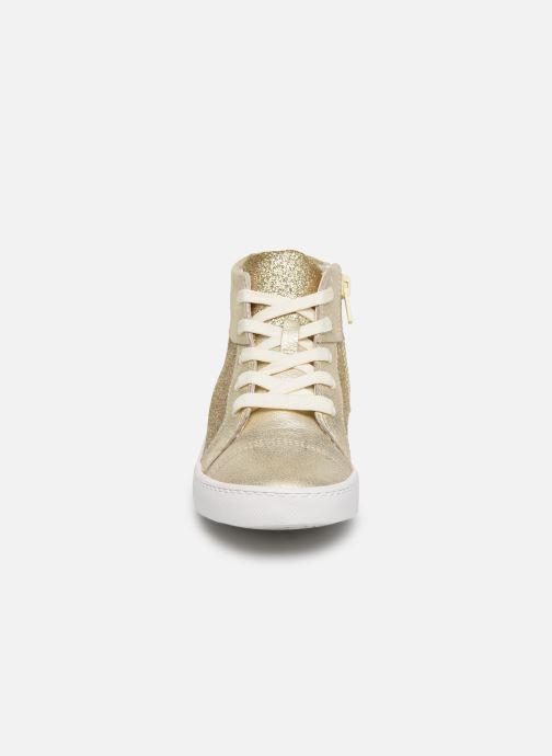 Baskets Clarks City OasisHi K Or et bronze vue portées chaussures