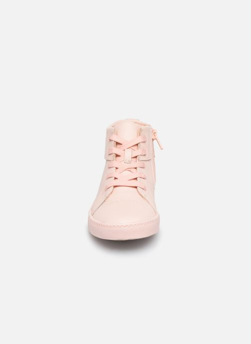 Trainers Clarks City OasisHi K Pink model view