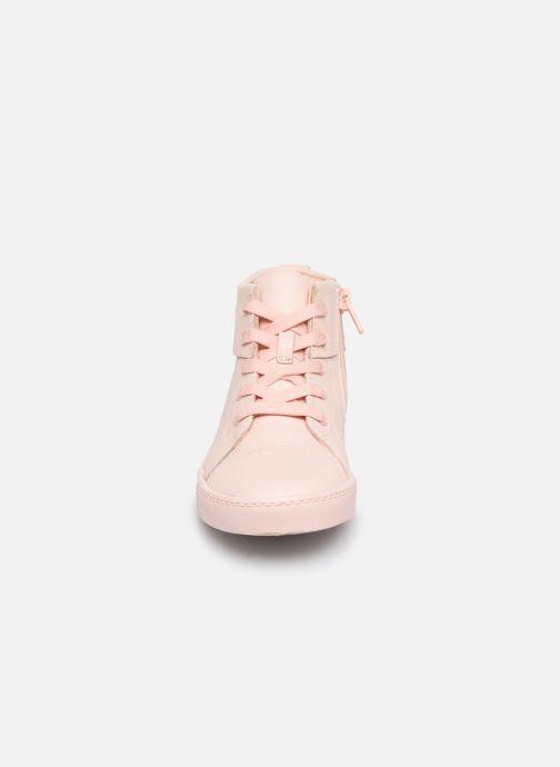 Baskets Clarks City OasisHi K Rose vue portées chaussures