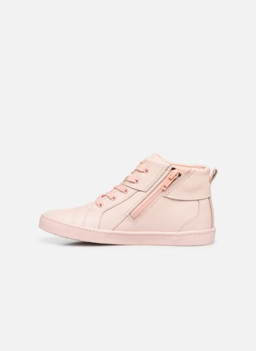 Trainers Clarks City OasisHi K Pink front view