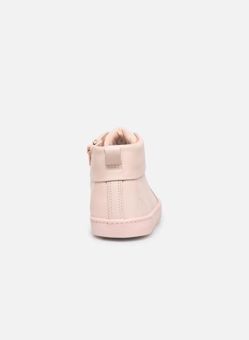 Sneaker Clarks City OasisHi K rosa ansicht von rechts
