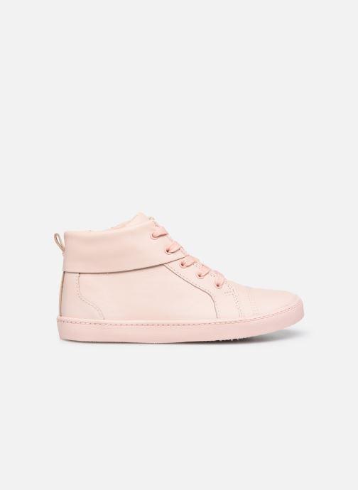 Sneaker Clarks City OasisHi K rosa ansicht von hinten