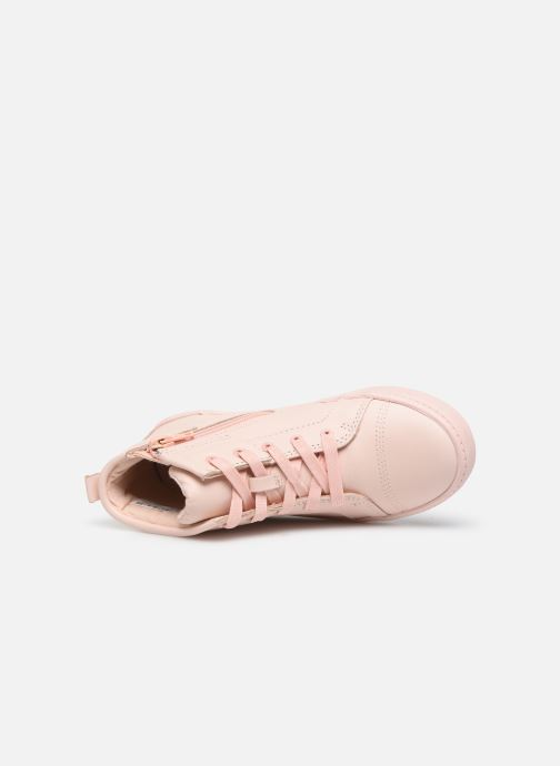 Trainers Clarks City OasisHi K Pink view from the left