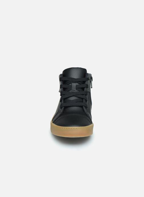 Sneaker Clarks City OasisHi K schwarz schuhe getragen