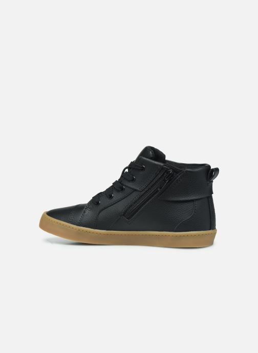 Baskets Clarks City OasisHi K Noir vue face