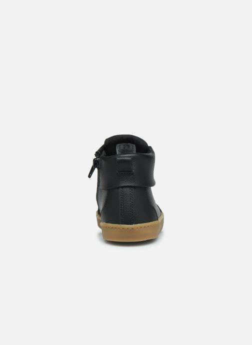 Sneaker Clarks City OasisHi K schwarz ansicht von rechts