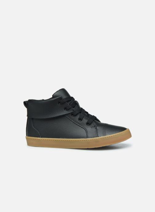 Sneakers Clarks City OasisHi K Zwart achterkant