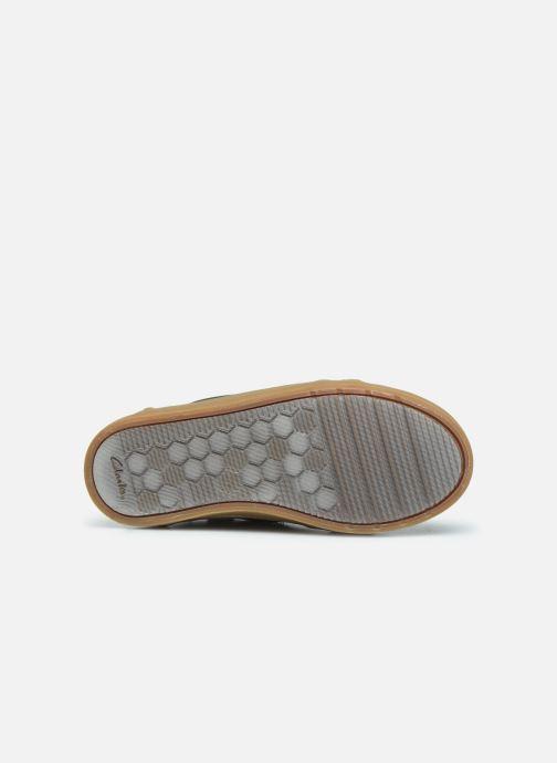 Sneakers Clarks City OasisHi K Zwart boven