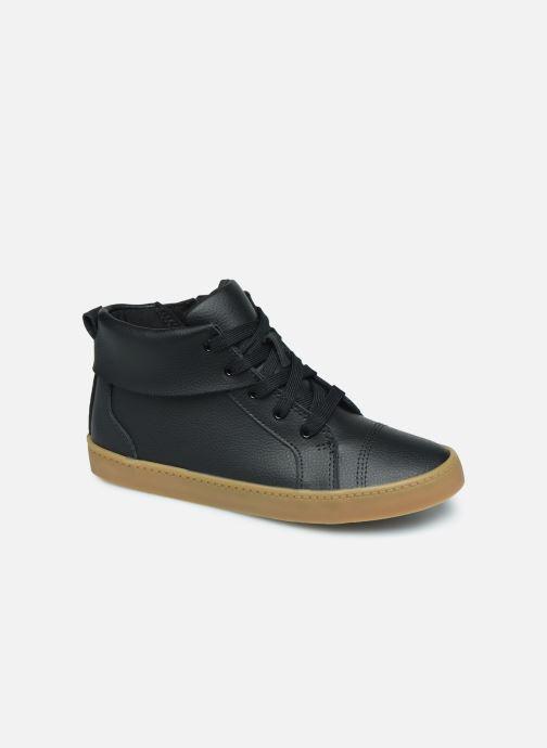 Sneakers Clarks City OasisHi K Zwart detail