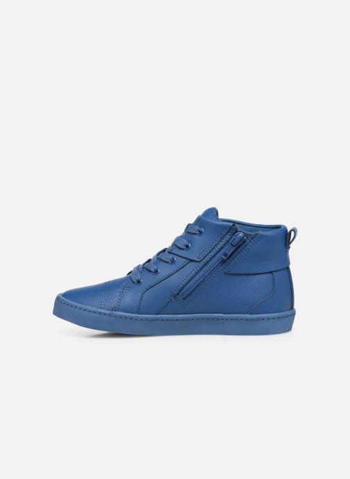 Sneaker Clarks City OasisHi K blau ansicht von vorne