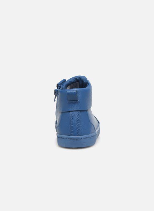 Sneaker Clarks City OasisHi K blau ansicht von rechts