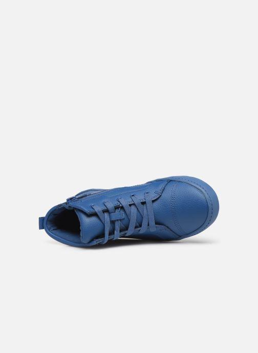 Sneaker Clarks City OasisHi K blau ansicht von links