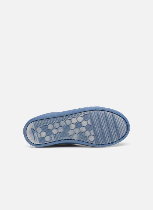 Sneaker Clarks City OasisHi K blau ansicht von oben