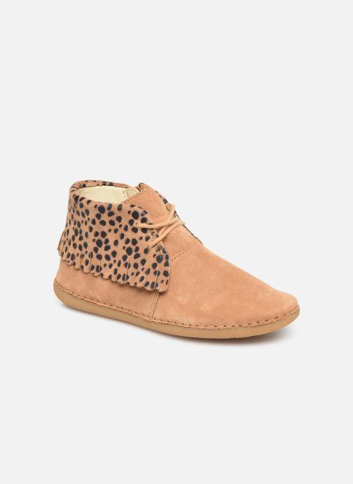 Bottines et boots Clarks Skylark Form K Marron vue détail/paire