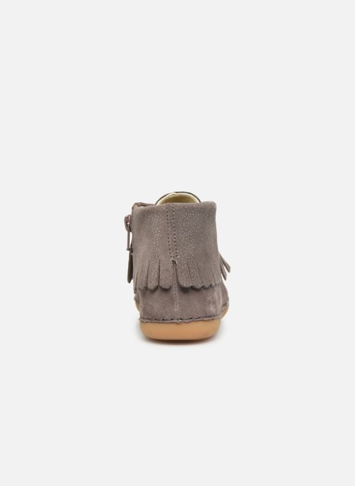 Ankle boots Clarks Skylark Form K Brown view from the right