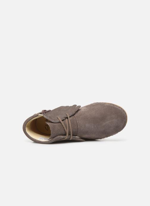 Bottines et boots Clarks Skylark Form K Marron vue gauche