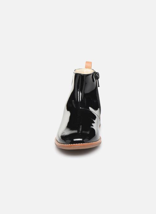Bottines et boots Clarks Drew Fun K Noir vue portées chaussures